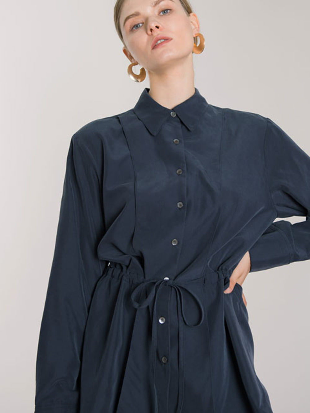 TENCEL STRING SHIRTS