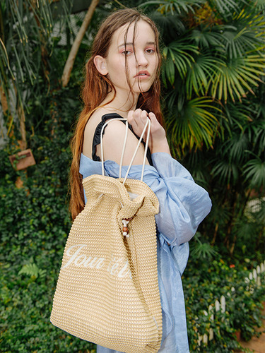 ROPE MEDIUM BUCKET BAG