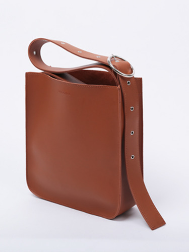 ARTIFICIAL LEATHER BUCKLE BAG