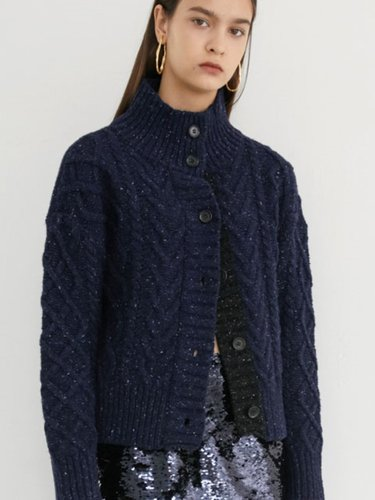 SNOW KNIT CARDIGAN