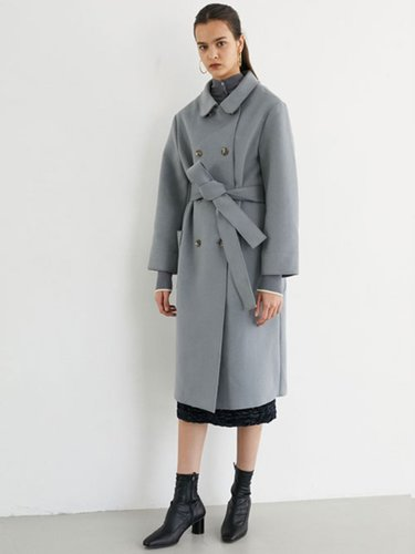DOUBLE ROBE COAT